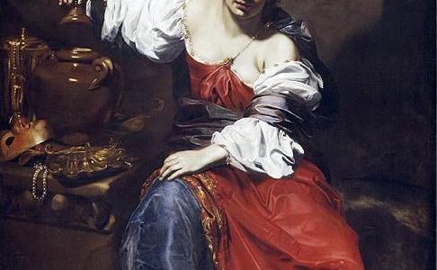 Nicolas Régnier Allegory of Vanity (Pandora)